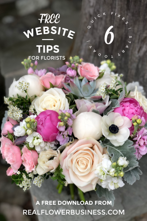 Website Tips For Florists