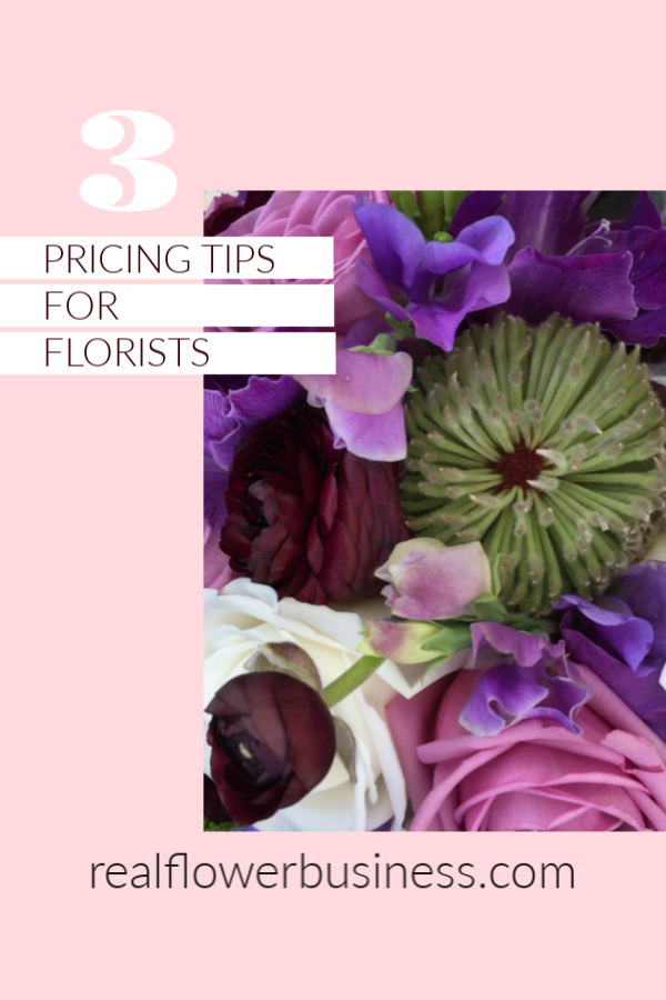 realflowerbusiness.com, florist pricing tips
