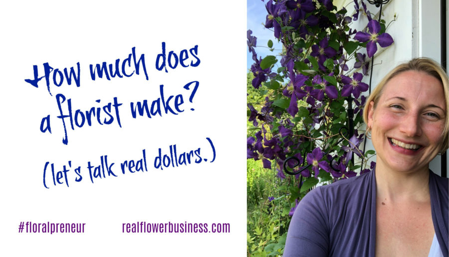 Flower Math, online pricing course for floral designers, florist pricing guide