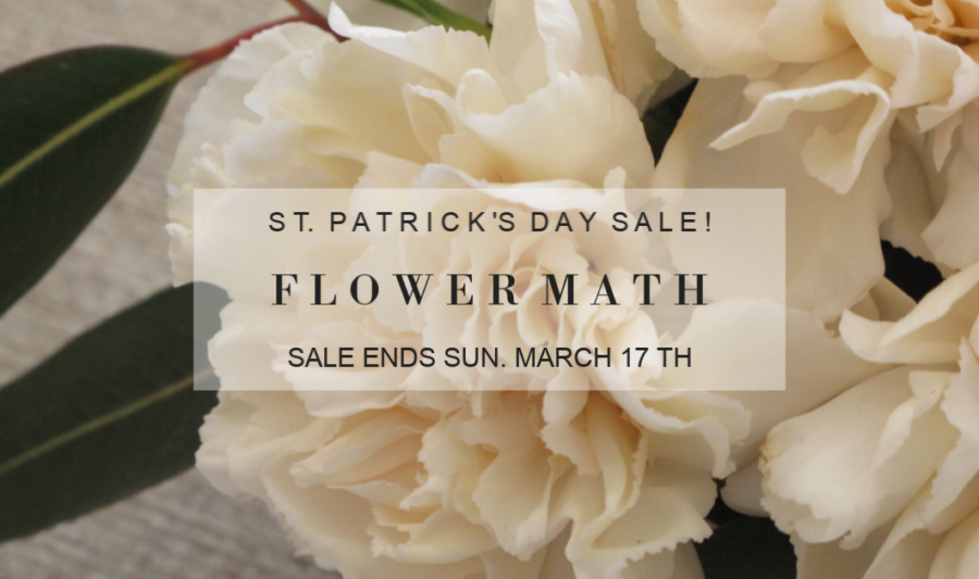 flower math sale