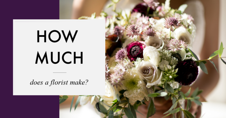 how much does a florist make? What does a florist earn? realflowerbusiness.com online courses for florists