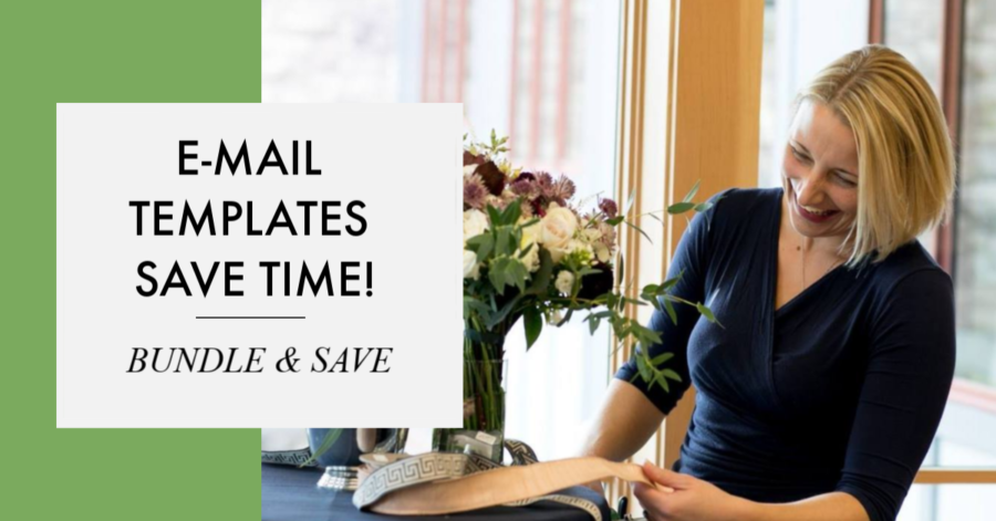 EMAIL TEMPLATES FOR FLORISTS